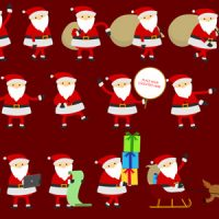 VIDEOHIVE SANTA ANIMATION & GREETINGS