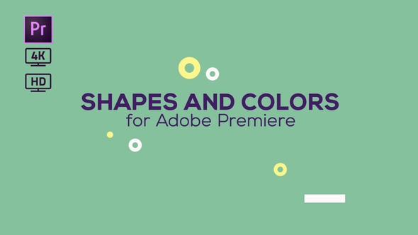 VIDEOHIVE SHAPES AND COLORS BROADCAST PACKAGE | ESSENTIAL GRAPHICS