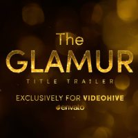VIDEOHIVE THE GLAMUR TITLE TRAILER
