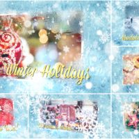 VIDEOHIVE WINTER HOLIDAYS SLIDESHOW