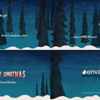 VIDEOHIVE WINTER CARD