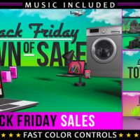 VIDEOHIVE BLACK FRIDAY SHOPPING PROMOTION