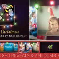 VIDEOHIVE CHRISTMAS LIGHTS LOGO & SLIDESHOW