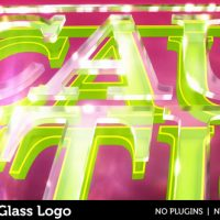 VIDEOHIVE CAUSTIC GLASS LOGO