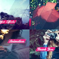 VIDEOHIVE CLEAN GLASS SLIDESHOW