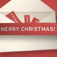 VIDEOHIVE CHRISTMAS ENVELOPE