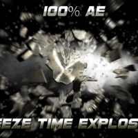 VIDEOHIVE FREEZE TIME EXPLOSION