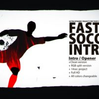 VIDEOHIVE FAST SOCCER INTRO