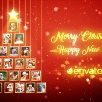 VIDEOHIVE CHRISTMAS TREE PHOTOS OPENER