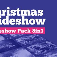 VIDEOHIVE CHRISTMAS SLIDESHOW PACK 8IN1
