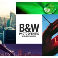 VIDEOHIVE BLACK & WHITE – CLEAN PHOTO OPENERS
