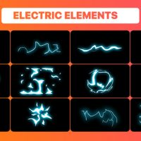 VIDEOHIVE ELECTRIC ELEMENTS PACK