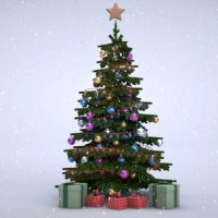 VIDEOHIVE 3D CHRISTMAS TREE