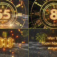 VIDEOHIVE NEW YEAR COUNTDOWN 2019 21080880