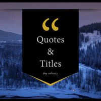 VIDEOHIVE QUOTES AND TITLES