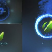 VIDEOHIVE FIRE RING LOGO REVEAL