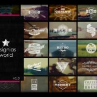 VIDEOHIVE INSIGNIAS WORLD