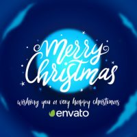 VIDEOHIVE CHRISTMAS CARTOON CARD