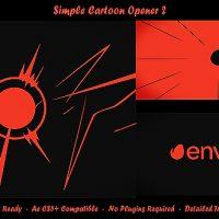 VIDEOHIVE SIMPLE CARTOON OPENER 2