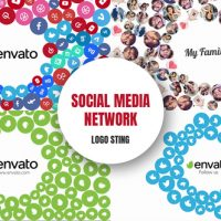 VIDEOHIVE SOCIAL MEDIA NETWORK – LOGO STING