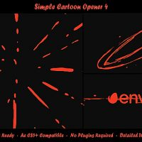 VIDEOHIVE SIMPLE CARTOON OPENER 4