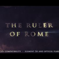 VIDEOHIVE THE RULER OF ROME – CINEMATIC TRAILER