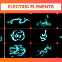 VIDEOHIVE HAND DRAWN ELECTRIC ELEMENTS PACK