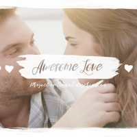 VIDEOHIVE AWESOME LOVE