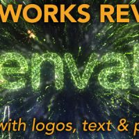 VIDEOHIVE FIREWORKS REVEAL – FOR LOGOS, TEXT AND PICTURES