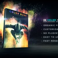 VIDEOHIVE COLOR RUSH – COLOR POWDER COLLECTION – MOTION GRAPHIC