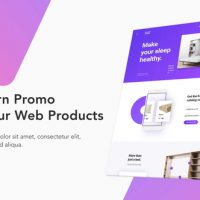 VIDEOHIVE MODERN WEBSITE PROMO