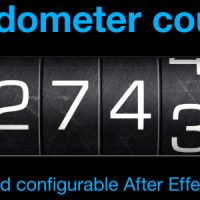 VIDEOHIVE ODOMETER NUMBER COUNTER