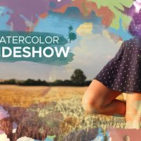 VIDEOHIVE WATERCOLOR PARALLAX SLIDESHOW 22546329