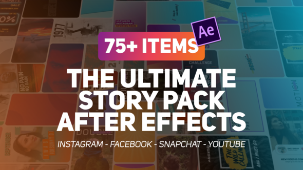 VIDEOHIVE THE ULTIMATE STORY PACK - Free After Effects