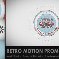 VIDEOHIVE RETRO MOTION PROMO