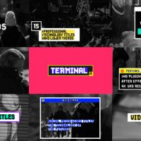 VIDEOHIVE TITLES AND LOWER THIRDS 21436207