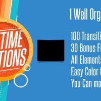 VIDEOHIVE LIFETIME TRANSITIONS PACK – AFTER EFFECTS PROJECT