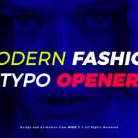 VIDEOHIVE MODERN FASHION TYPO OPENER