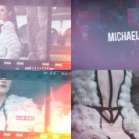 VIDEOHIVE CINEMATIC GLITCH TITLE SEQUENCE