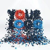 VIDEOHIVE 3D PARTICLES LOGO BUILD & BREAK