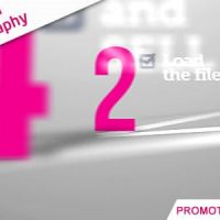VIDEOHIVE PROMOTE WITH KINETIC TYPOGRAPHY