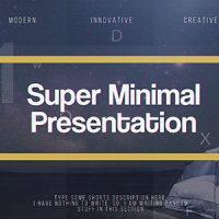 VIDEOHIVE SUPER MINIMAL PRESENTATION