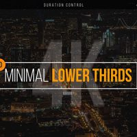 VIDEOHIVE MINIMAL LOWER THIRDS 20493315