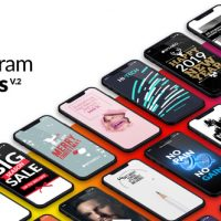 VIDEOHIVE INSTAGRAM STORIES PACKAGE V2