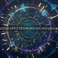 VIDEOHIVE AUDIO SPECTRUM MUSIC VISUALIZER 22546212