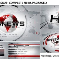VIDEOHIVE BROADCAST DESIGN – COMPLETE NEWS PACKAGE 2