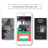 VIDEOHIVE ANIMATED STORIES KIT // INSTAGRAM, SNAPCHAT, FACEBOOK