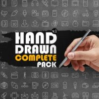 VIDEOHIVE HAND DRAWN COMPLETE PACK