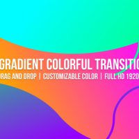 VIDEOHIVE GRADIENT COLORFUL TRANSITIONS