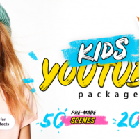 VIDEOHIVE KIDS YOUTUBE PACKAGE